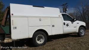 Ford F350 Ramp Truck - 2004 ford f350 super duty xl utility truck item l7211 so