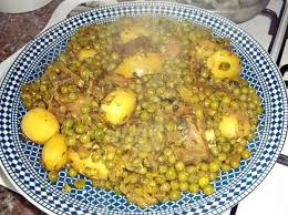 cuisiner les petits pois recette de tajine de jarret de veau petits pois et pomme de terre