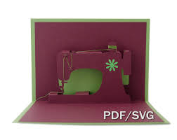 sewing cards templates templates pdf u0026 svg for sewing machine 3d pop up card