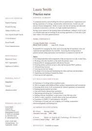 nursing cv template nurse resume examples sample registered