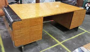 leon mid century desk mid century executive desk by leon rosen for pace collection for