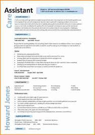 Health Care Assistant Resume 8 Gallery Assistant Cv Invoice Template Download