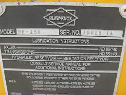 2001 blaw knox pf150 paver item h5364 sold july 31 cons
