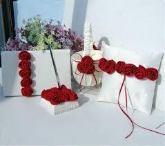 online shop lumiparty romantic satin rosette wedding decoration