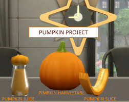 mod the sims the pumpkin project