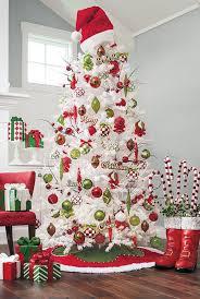top white tree decorations celebrations