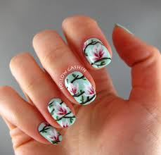 15 spring floral nail art designs always in trend always in trend