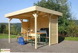 tonnelle de jardin en bois tonnelle bois toit plat avignon parois tonnelle regensburg