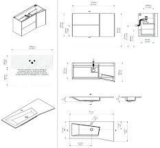 hauteur standard meuble cuisine meuble cuisine hauteur hauteur colonne cuisine de with taille