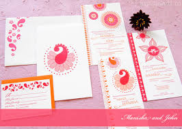 modern wedding cards stationery by 3 bees paperie myshaadi in