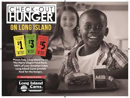 make sure you check out hunger this fall long island cares inc from now through the new year various supermarkets on long island will be participating in our simple donation program