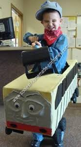 Cool Guy Halloween Costumes Coolest Homemade Thomas Train U0027s Diesel 10 Halloween Costume