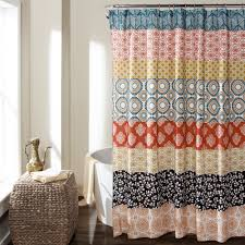 lush decor bohemian stripe shower curtain products pinterest