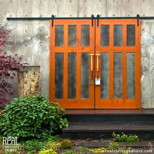 Salvaged Barn Doors by Spring Into Action With Real Sliding Hardware Real Sliding Hardware