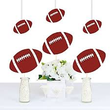 football decorations end zone football baby shower theme bigdotofhappiness