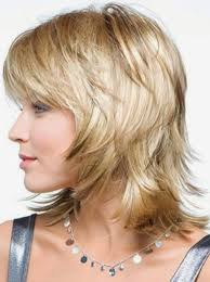 photo gallery of short to mid length layered hairstyles viewing