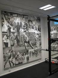 home gym wall decor interior design basement gym room wall decor improvement by sport
