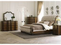 King Size Leather Sleigh Bed Bedroom Queen Sleigh Bed Frame Sleigh Beds Queen Mattress Frame