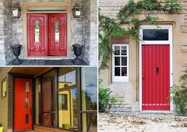 the tradition of painting a front door red what does it mean