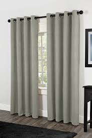 Eclipse Grommet Blackout Curtains Amazon Com Exclusive Home Rita Heavyweight Textured Linen Look