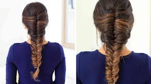 hair tutorial how to french fishtail braid hair tutorial luxy hair