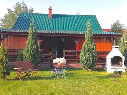 Gardens With Summer Houses - wooden summer house with large garden grzybowo western pomerania