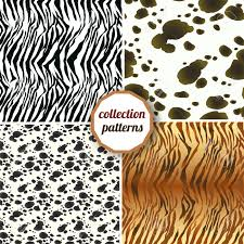leopard print tissue paper set of seamless pattern set design animal print pattern texture