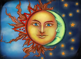 when the sun and the moon by berryluna on deviantart