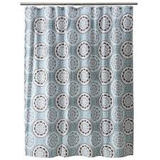 Teal And Brown Shower Curtain Medallion Shower Curtain Threshold Target