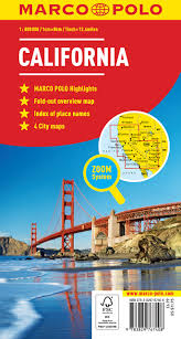 California Maps California Marco Polo Map Marco Polo Maps Amazon Co Uk Marco