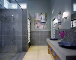blue and gray bathroom ideas bathroom wall accessories wedding and ideas blue modern bath tiles