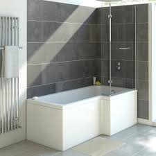shower bath shower baths small shower baths luxury shower baths solarna reinforced l shape shower bath 1700 x 850 with panel screen right hand