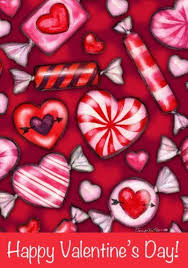 s day heart candy happy valentines day heart candy sided house flag