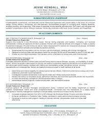human resources resume exles human resources resume exle
