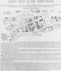 Map Of Hotels In Washington Dc by Map Of Murder Bay Vice Map Of Washington Dc In The 1890s