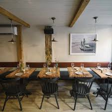 Building Dining Room Table 19 Restaurants Hitting The Rustic Nail On The Head