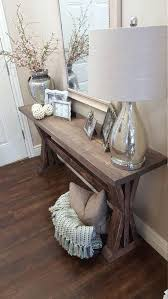 living room deco rustic farmhouse entryway table by on a rustic