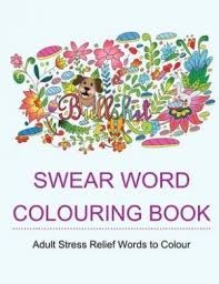 swear word colouring book star coloring books colouring