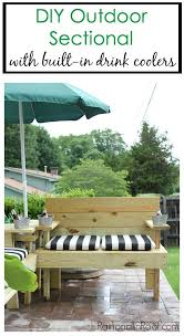 Free Building Plans For Outdoor Furniture by Best 25 Outdoor Sectional Ideas On Pinterest Sectional Patio
