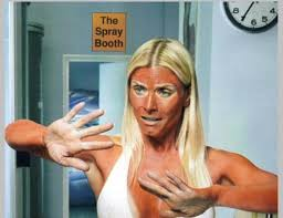 White Girl Tanning Meme - the worst attempts at getting spray tanned mutually