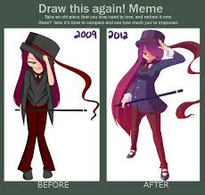 Draw It Again Meme - draw this again meme 3 years by mishi la on deviantart