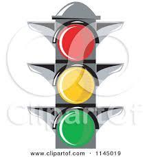 Traffic Light Clipart Royalty Free Rf Red Light Clipart Illustrations Vector Graphics 1