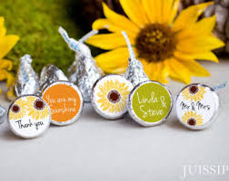 sunflower wedding favors sunflower favors etsy