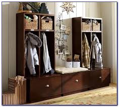 entryway benches with storage and coat rack bench 47954
