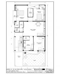 best modern 3 bedroom rectangular house plans image 7025