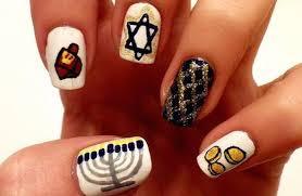 hanukkah nail easy hanukkah nail girlslife