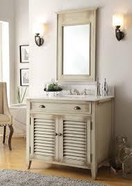 adelina 36 inch beige bathroom vanity white marble counter top