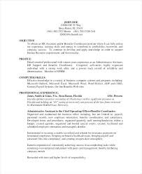 ba resume format benefits assistant sample resume advertising assistant resumes