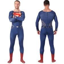 high quality men u0027s spandex superman cosplay costumes adults lycra
