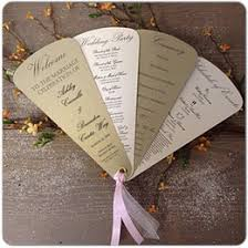 vintage wedding programs discount wedding programs fans 2017 wedding programs fans on